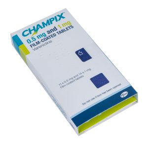 Champix 0.5mg and 1mg Film Coated Tablets