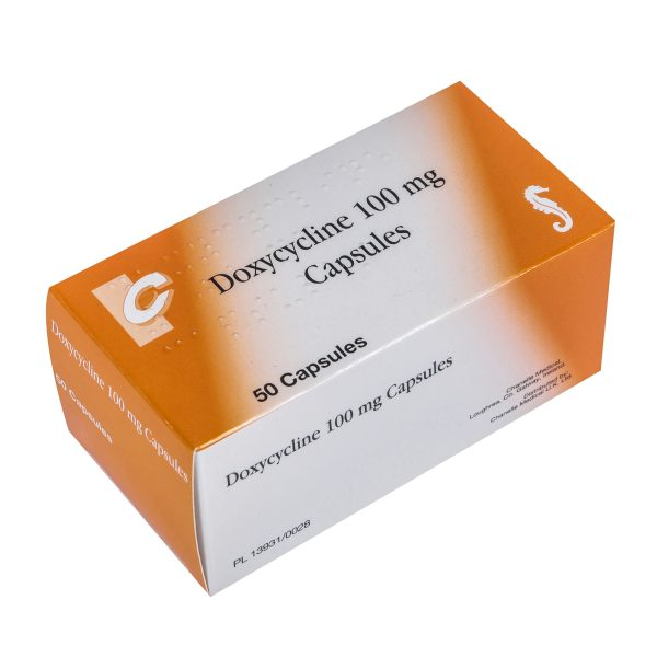 Doxycycline-100mg-Capsules available at Post My Meds