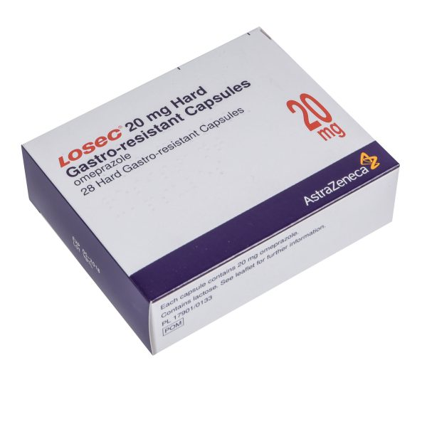 Losec-20mg tablets available at Post My Meds