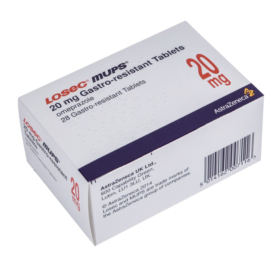 Losec-Mups 20mg Omeprazole available at Post My Meds