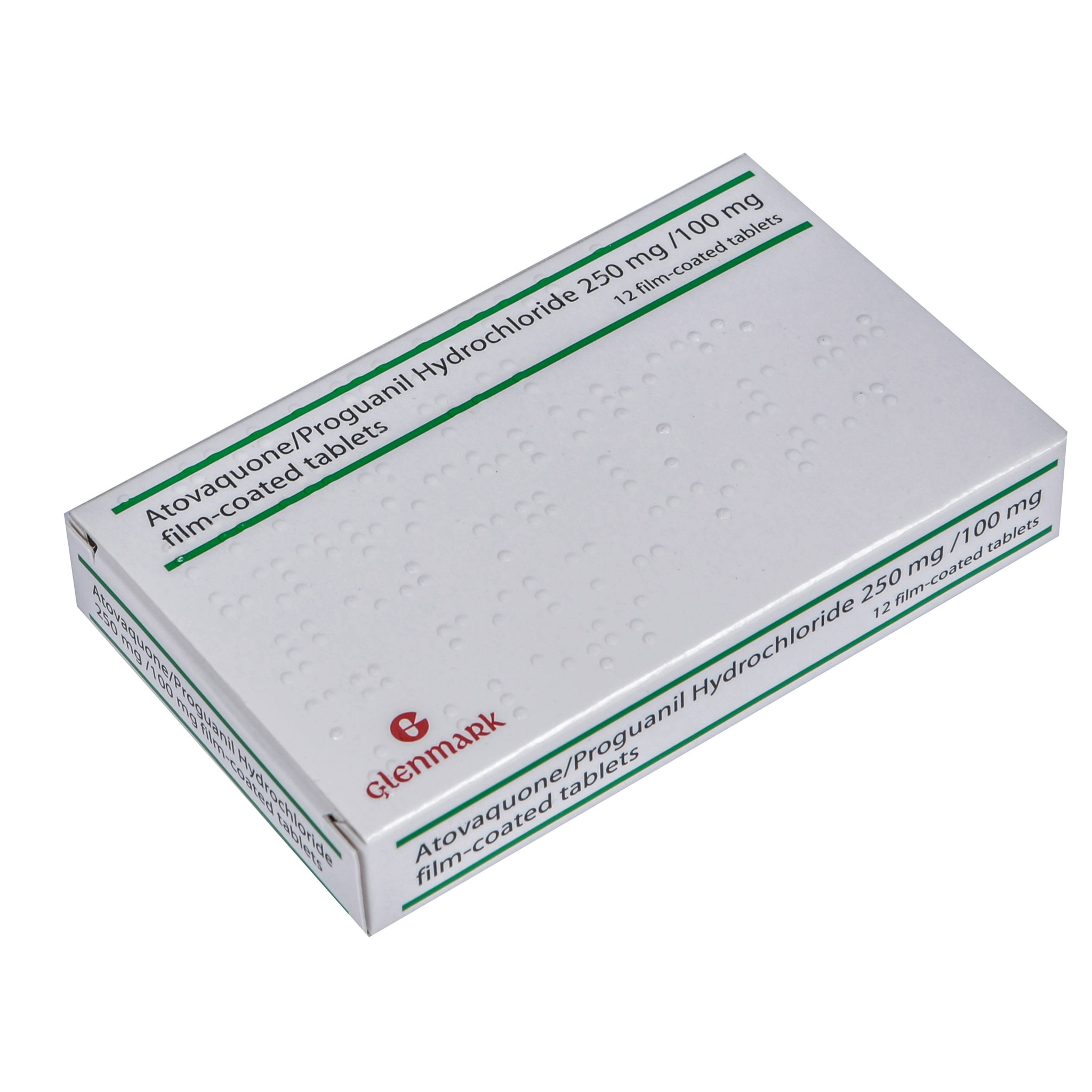 Atovaquone/Proguanil 250mg film coated tablets available at Post My Meds