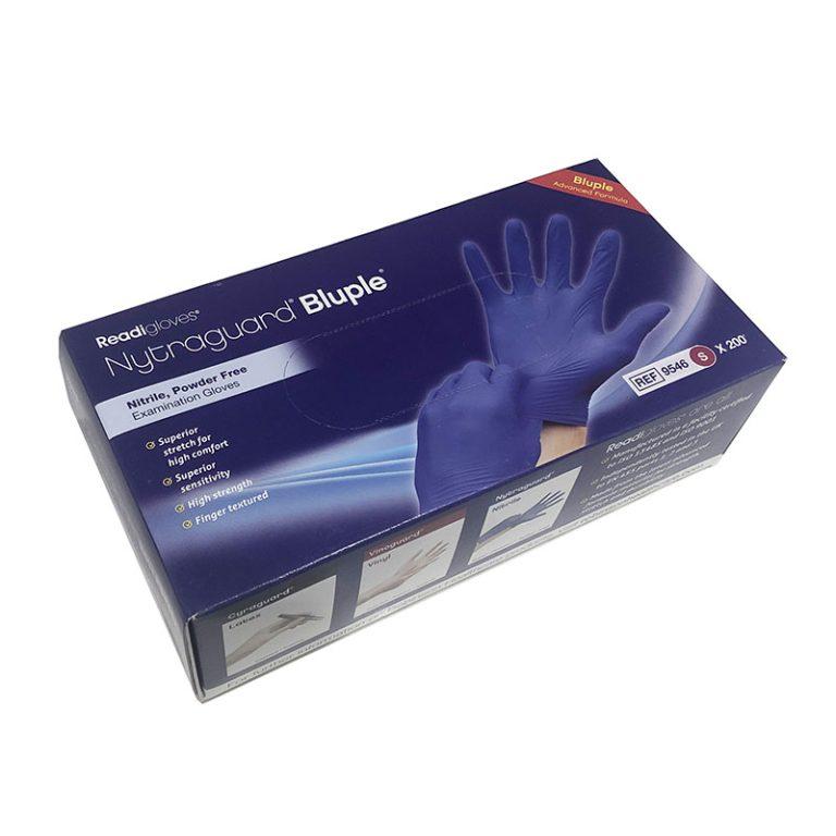 Blue Gloves S