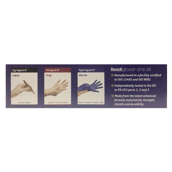 Blue Gloves side
