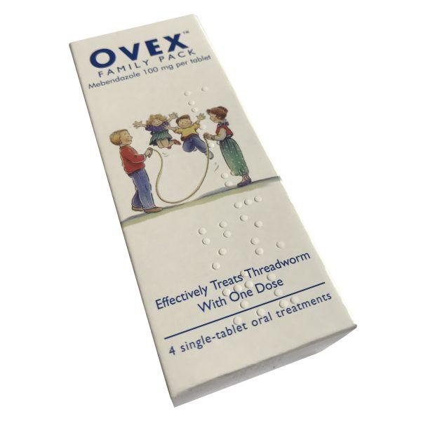 Ovex Family Pack Treats Threadworm
