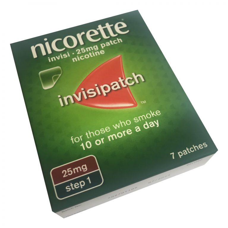 nicorette 25mg patch