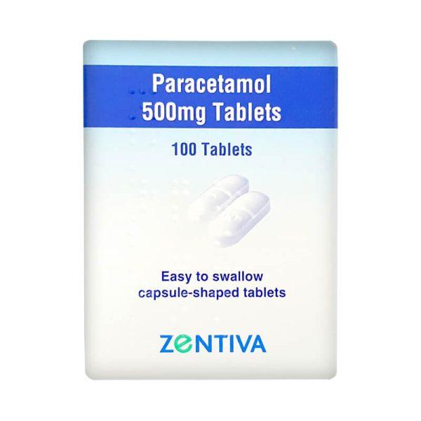 500mg paracetamol tablets