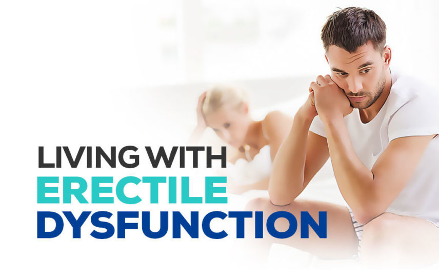 Living with erectile dysfunction – infographic
