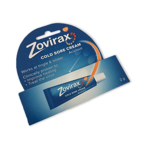 Zovirax cold sore cream