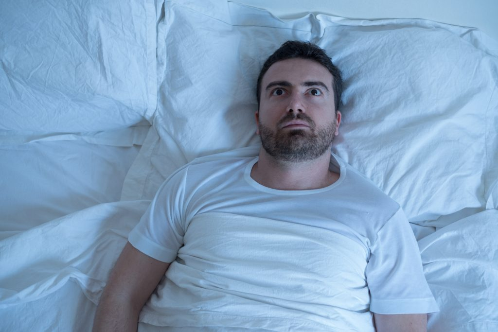 Man worrying about erectile dysfunction