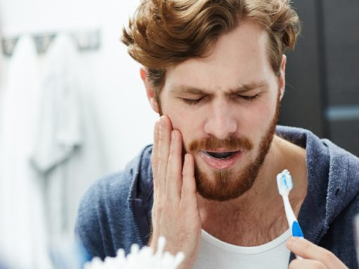 What causes tooth sensitivity to sweetness?